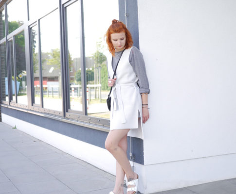 Outfit: Graue Sommerstimmung
