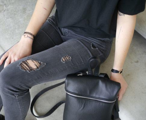 Outfit: Destroyed Black // Zu viel Alkohol, zu viel laute Musik